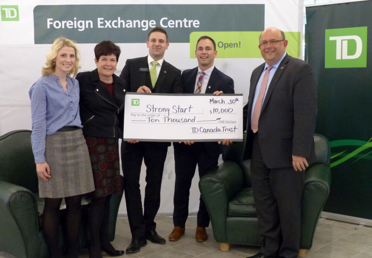TD Canada Trust is a True Literacy Champion | Strong Start
