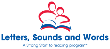 letters sounds and words logo